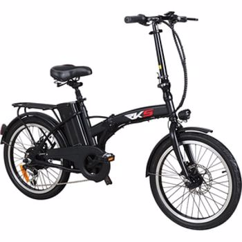 Bicicleta electrica RKS MX25, 20 inch, negru