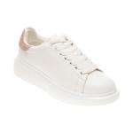 Pantofi sport ALDO albi, Dazzle680, din piele ecologica