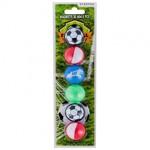Magneti Fotbal 30 mm, multicolor, set 6 bucati, Starpak