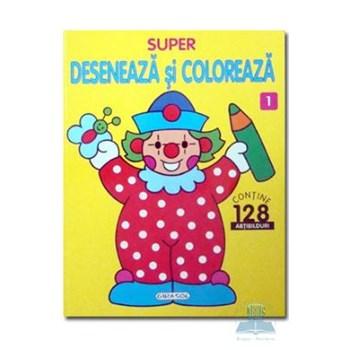 Super deseneaza si coloreaza 1