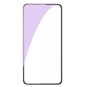 Lemontti Folie Sticla 3D Anti-BlueRay iPhone 11 Pro / XS / X Black (0.3mm, 9H)