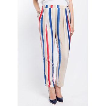 Pantaloni casual dama Lashez multicolor