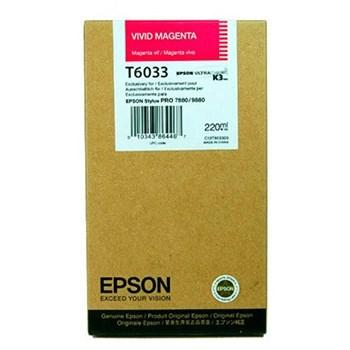 CARTUS VIVID MAGENTA C13T603300 220ML ORIGINAL EPSON STYLUS PRO 7880