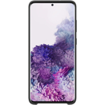 Husa de protectie Samsung Silicone Cover pentru Galaxy S20 Plus, Black