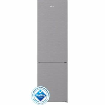 Combina frigorifica Arctic AK60406NFMT++, 362 l, Clasa A++, Full No Frost, Fast Freeze XL Zone, Fresh Max 0°C, H 203, Metal Look