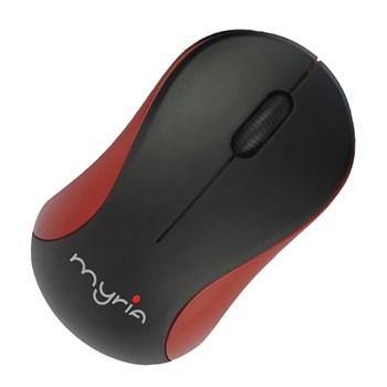 Mouse Wireless MYRIA MY8503, 1000 dpi, negru-rosu