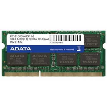 Memorie Laptop ADATA 4GB DDR3 1600MHz CL11 ad3s1600w4g11-r