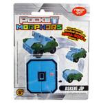 Jucarii de constructie / Jucarie convertibila Morphers Pocket - Cifra 0, Jeep