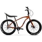 """Bicicleta Pegas Cutezator EV Banana, Cadru 17"""", Roti 26"""", 7 Viteze (Portocaliu cupru)"""