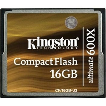 Card de memorie Kingston Compact Flash Card 16GB Ultimate 600x w/Recovery s/w