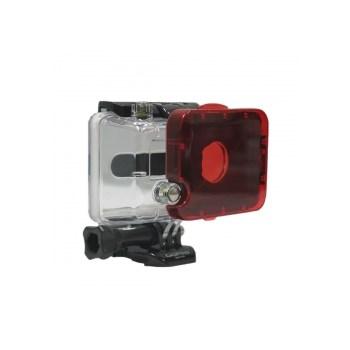 Polar Pro filtru snap on rosu pentru GoPro Hero1 si Hero2