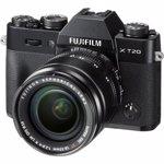 Aparat foto Fujifilm X-T20 (obiectiv 18-55mm), argintiu