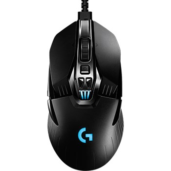 Logitech G900 Chaos Spectrum Wireless Gaming Mouse, 12,000 DPI, RGB, Lightweight, 6 Programmable Buttons, Long Battery Life, Compatible with PC / Mac - Black (German Packaging)