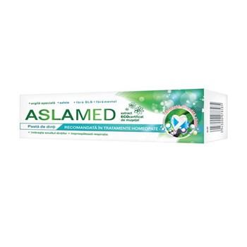 Pastă de dinţi recomandată în tratamente homeopate AslaMed