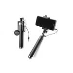 Monopod selfie stick mini cu cablu Jack, 3.5mm extensibil, 78cm negru C231 (10 voturi ) 5 stele (10 voturi) 100% Complet