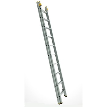 Alverosal Forte 8216, scara culisanta cu 2 tronsoane, 2x16 trepte, inaltime 8.11 m, latime 412 mm
