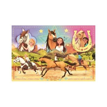 Puzzle Trefl - Spirit Riding Free, 160 piese (15370)