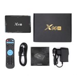Smart TV Box Mini PC Techstar® X96H, Android 9, 4GB + 32GB ROM, 6K HDR ,WiFi 5Ghz, Bluetooth, HDMI IN/OUT, Allwinner H616