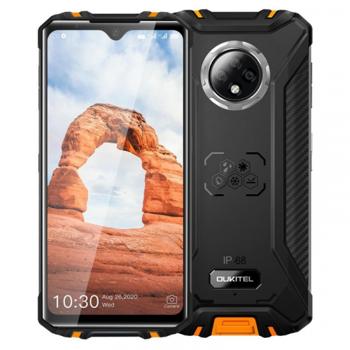 Telefon mobil Oukitel WP8 Pro, 4G, IPS 6.49 Waterdrop, 4GB RAM, 64GB ROM, MediaTek MT6762D OctaCore, NFC, 5000mAh, Dual SIM, Orange