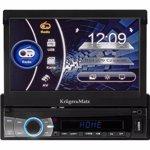 Player auto 1 DIN Kruger and Matz model KM2005 Bluetooth USB SD AUX GPS FM km2005
