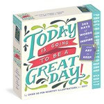 Calendar 2017 - Today is Going to Be a Great Day! Colour Page-A-Day