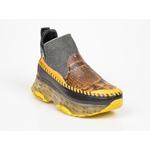 Pantofi sport FLAVIA PASSINI galbeni, 612, din piele naturala