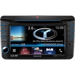Sistem auto Kenwood DNX-516DABS 2DIN universal cu ecran de 7″ DVD/USB/SD/BT Navigatie Integrata si Control Smartphone 4x 50W