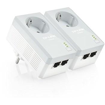 PowerLine KIT TP-Link, 500Mbps, 2 porturi 10/100Mbps, power socket