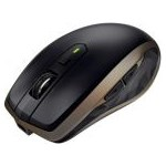Mouse Wireless Logitech MX Anywhere 2, 1600 DPI, USB, Black/Brown