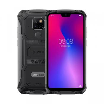 Telefon mobil Doogee S68 Pro Negru, IPS 5.9 , 6GB RAM, 128GB ROM, Android 9.0, Helio P70, 6300mAh, Incarcare Wireless Reversibila, Dual SIM