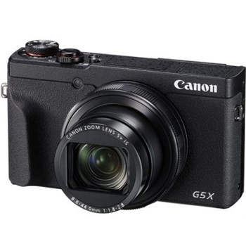 Aparat foto digital PowerShot G5 X Mark II, 20.1 MP, 4K, Negru + Acumulator Canon NB-13L