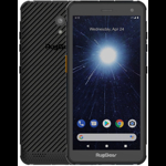 Smartphone RugGear RG655, 32GB, 3GB RAM, Dual SIM, 4G, Black, Complet rezistent la apa si praf, Baterie 4200 mAh, Buton definit pentru functie walkie-talkie