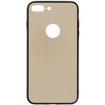Husa Protectie Spate Tellur Glass DUO Auriu pentru Apple iPhone 8 Plus