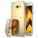 Husa Samsung Galaxy A7 2017 Ringke MIRROR ROYAL GOLD + BONUS folie protectie display Ringke
