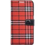 Husa Book Tellur Samsung S7 Rosu-Negru tll184071