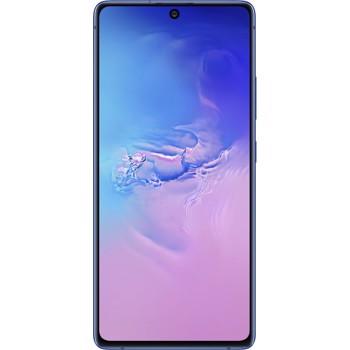 "Telefon Mobil Samsung Galaxy S10 Lite, Procesor Snapdragon 855, Octa-core, Super AMOLED Plus Capacitive touchscreen 6.7"", 8GB RAM, 128GB Flash, Camera Tripla 48+12+5MP, 4G, Wi-Fi, Dual SIM, Android (Albastru)"