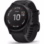 Ceas Smartwatch Garmin Fenix 6S Pro, 42 mm, Black