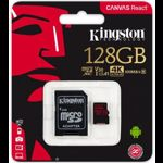 Card de memorie Kingston SDCR/128GB, 128GB, Clasa 10 + Adaptor