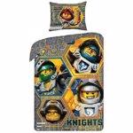 Lenjerie de pat cavalerii LEGO NEXO KNIGHTS (398989)