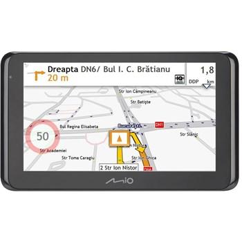 """Sistem de navigatie Mio Spirit 8670 LM Truck, diagonala 6.2"""", Bluetooth, TMC, Full Europe + actualizari gratuite pe viata"""
