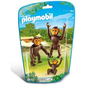 Playmobil City Life - Zoo, Familie de cimpanzei