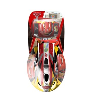 Set protectie casca,cotiere si genunchiere Stamp Combo Cars