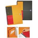 Caiet cu spirala A5+, OXFORD Int. Activebook, 80 file - 80g/mp, Scribzee, 10 perf, coperta PP - mate