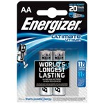 Baterii Energizer Ultimate Lithium AA, blister de 2 buc.
