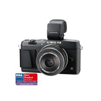 Olympus E-P5 kit 17mm /1.8 + Vizor electronic VF-4 - negru