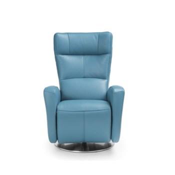 Fotoliu recliner Inari Blue, l72xA80xH112 cm