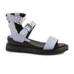 Sandale femei Enzo Bertini azzuro din piele 2659DS2600AZ