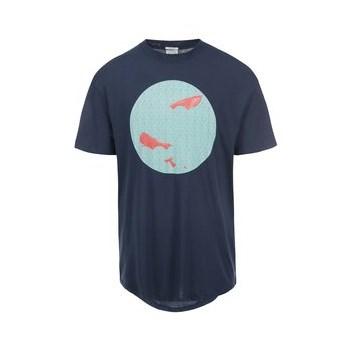 Tricou bleumarin Jack & Jones Circle