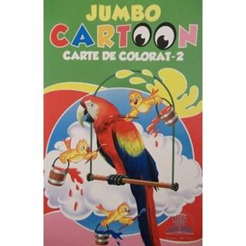 Jumbo Cartoon 2 - Carte de colorat, editura All