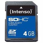 Card memorie Intenso SDHC 4GB Clasa 4